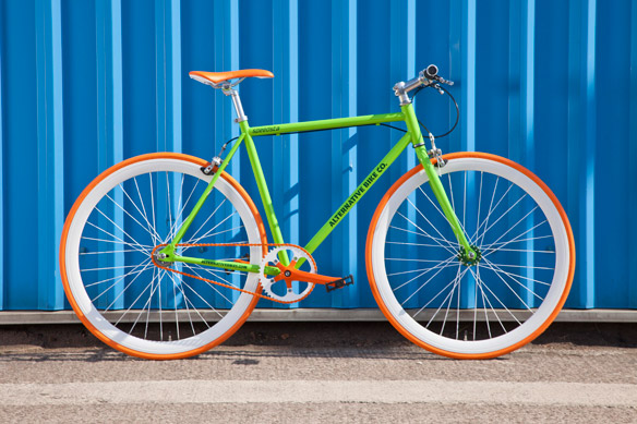 Alternative Bike Co Speedsta Our Bright Single Speed